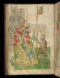 William The Conqueror Granting Richmondshire To Alan Rufus, Count Of Brittany, In The Register Of The Honour Of Richmond